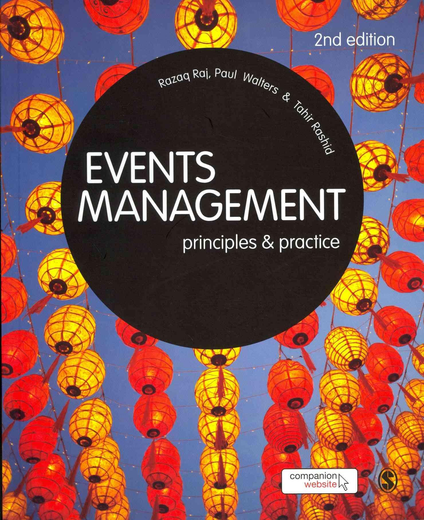 Events Management By Raj, Razaq/ Walters, Paul/ Rashid, Tahir