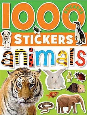 1000 Stickers - Animals By Cox, Katie (CRT)